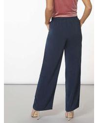 Dorothy Perkins Vila Blue Plato Trousers