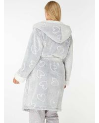 Dorothy Perkins Gray Breast Cancer Care Robe