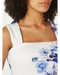 Dorothy Perkins Blue Scarlett B White 'lara' Bodycon Dress
