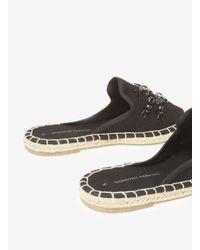 Dorothy Perkins Black 'chile' Jewel Mule Sandals
