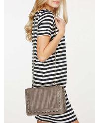 Dorothy Perkins Gray Grey Chain Shoulder Bag