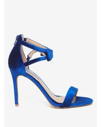 Dorothy Perkins - Cobalt Blue 'brianna' Heeled Sandals - Lyst