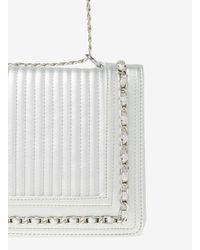 Dorothy Perkins Metallic Silver Chain Shoulder Bag
