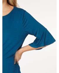 Dorothy Perkins | Maternity Teal Blue Double Layer Sleeve Top | Lyst