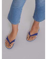 Dorothy Perkins Blue Comfort 'fiona' Flip Flop Sandals