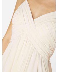 Dorothy Perkins Natural Vila Nude Pleated Camisole Maxi Dress