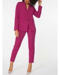 Dorothy Perkins Pink Fuschia 1 Button Blazer