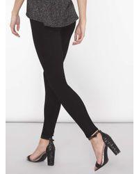 Dorothy Perkins Black Tall High Waist 'bailey' Super Skinny Stretch Jeans