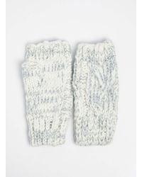 Dorothy Perkins - Multicolor Cream Fingerless Gloves - Lyst
