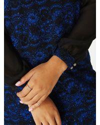 Dorothy Perkins Blue Billie & Blossom Cobalt Sequin Lace Shift Dress