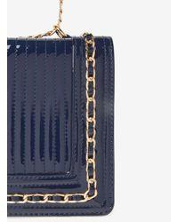 Dorothy Perkins Blue Navy Chain Shoulder Bag