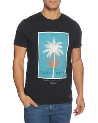 O'neill Sportswear T-Shirt in Black für Herren