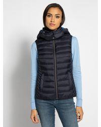 Esprit Blue Weste in blau für Damen, Größe: L