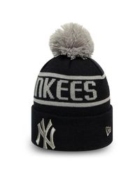 KTZ Gray Otc Bobble Knit New York Yankees