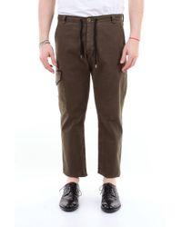 Pantalón cargo de color liso con cordón Saucony de hombre de color Brown