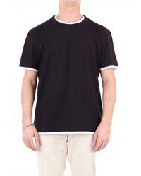 Paolo Pecora T-shirt kurzarm in Black für Herren