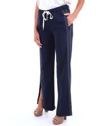 Pantalon Ermanno Scervino en coloris Blue