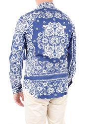 Camicie casual di Replay in Blue da Uomo