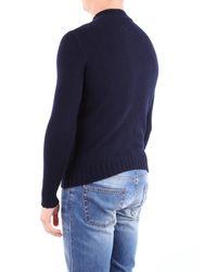 Tagliatore Pullover in Blue für Herren