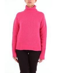 Jersey de cuello alto y manga larga Philosophy Di Lorenzo Serafini de color Pink