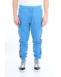 Pantalon trophée avec cordon de serrage et bandes latérales Diadora pour homme en coloris Blue