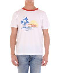 T-shirt Saint Laurent pour homme en coloris White