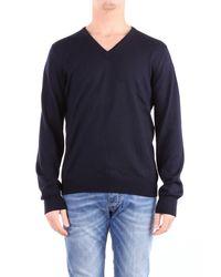 Tagliatore Trousse sweatshirt in Blue für Herren