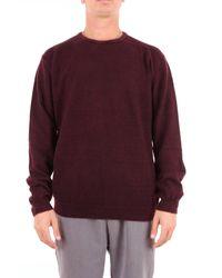 Suéter Heritage de hombre de color Purple