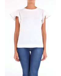 T-shirt Camiseta de manga corta Alpha Studio de color White