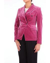 Tagliatore Pink Jacke