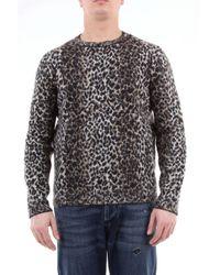 Jersey de mezcla lana bordado Saint Laurent de hombre de color Multicolor