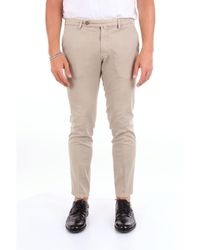 Pantalones chino Michael Coal de hombre de color Natural