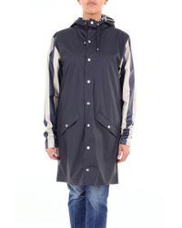 Prendas de abrigo zanja Rains de color Blue