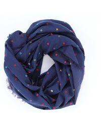 Écharpe Faliero Sarti en coloris Blue