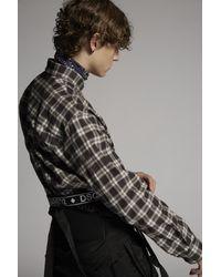 メンズ DSquared² ロングスリーブシャツ Black
