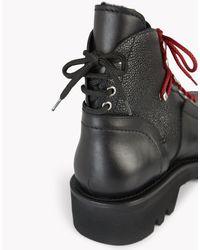 DSquared² - Black Trekking Combat Boots for Men - Lyst