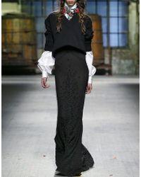 DSquared²   Black Dress   Lyst
