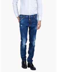 DSquared² | Blue Cool Guy Faded Jeans for Men | Lyst