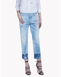 DSquared²   Blue Boyfriend Jeans   Lyst