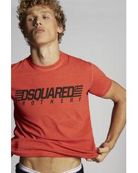メンズ DSquared² ショートスリーブt シャツ Red