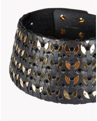 DSquared² - Black Samurai Necklace - Lyst