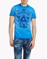 DSquared² Blue T-shirt for men