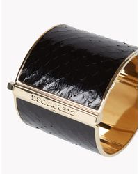 DSquared² Black Simple Chic Armlet