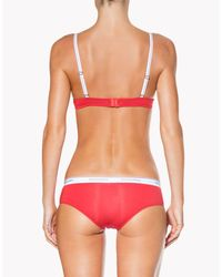 DSquared² - Red Bra - Lyst