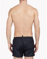 DSquared² - Black Swim Shorts for Men - Lyst
