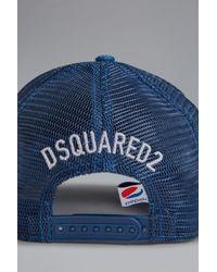 DSquared² ユニセックス ハット Blue