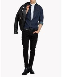 DSquared² Black Sexy Twist Jeans for men
