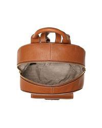 Lauren by Ralph Lauren - Brown Millbrook Leather Backpack - Lyst