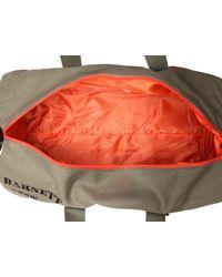 Steve Madden Green Canvas Gym Bag