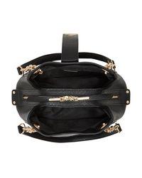 Dune Black Dilear Faux-leather Chain Shoulder Bag
